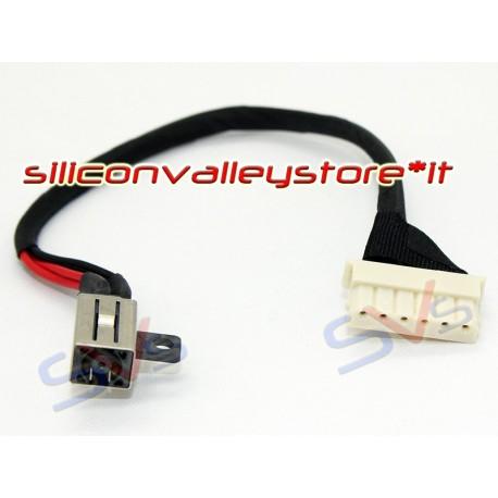 Connettore Alimentazione DC Power Jack per ASUS PU551LA PU550CA PU551LD - 6 PIN