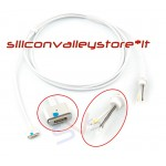 Cavo DC Power Spinotto Filo Alimentatore Apple Macbook Magsafe 2 45W 60W 85W a T