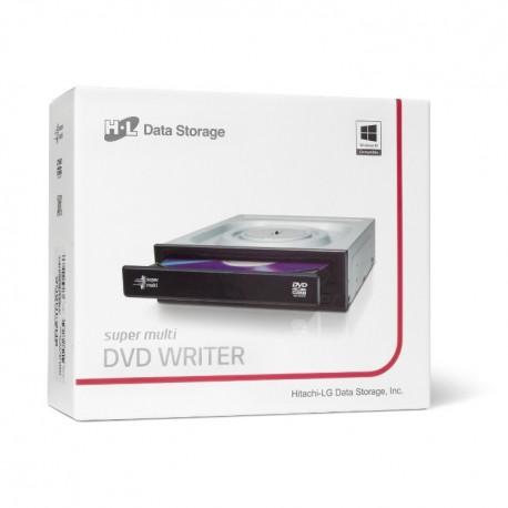 Masterizzatore DVD SATA HL Interno Nero GH24NSD6 RETAIL