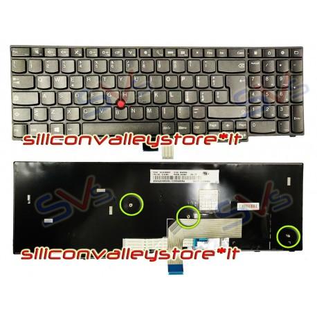Tastiera Italiana per Notebook Lenovo ThinkPad E550 E555 E560 E550C E565