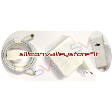 Alimentatore | Caricabatterie 61W per USB-Type C per Apple Macbook Magsafe