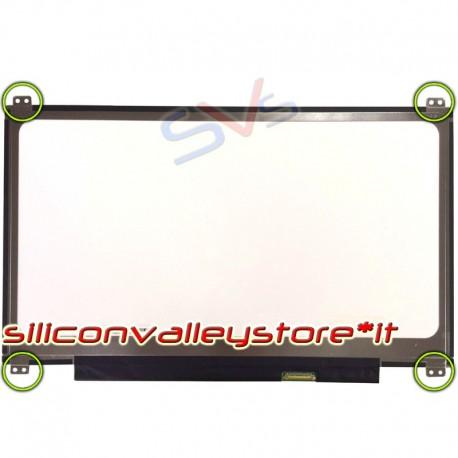 "DISPLAY SLIM LED da 13.3"" FULL HD 1920*1080 Compatibile LP133WF2 SPXL6"