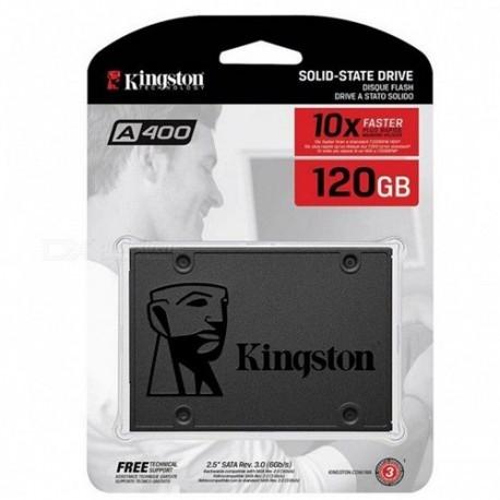 Hard Disk SSD 120GB SATA-III 2,5 Interno KINGSTON SA400S37/120G
