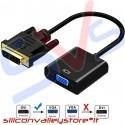 Adattatore DVI-D - VGA con Cavo Convertitore DVI-D a VGA | 24+1