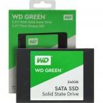 """Western Digital WDS240G2G0A Unità allo Stato Solido SSD Interna SATA 2.5"""", 240 GB, Green"""